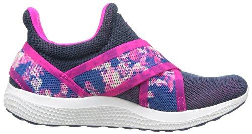 Adidas Climachill Sonic AL Chaussures de course à pied pour femme Mineral Blue / Shocking Pink / Footwear White