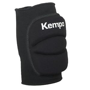 Kempa 200651001 Protecciones, Erwachsenen Knie Indoor Protektor Gepolstert, Schwarz