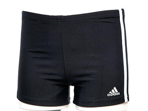 NEU Inf 3S Boxer Boys Adidas Size 128 Kinder Schwimmen Schwarz (Badehose Jungen Neu)
