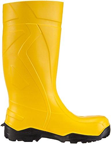 Dunlop  C762241 S5 PUROFORT+, Bottes de sécurité adulte mixte Jaune - Gelb (gelb (geel) 02)