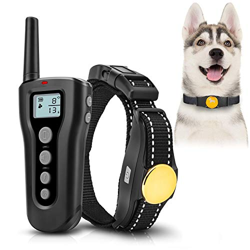 Collar adiestramiento perros 1000ft Remote 2018 Collar