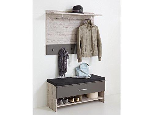 Garderobe Komplett Set Flurmöbel Dielenmöbel Garderobenset'Marijo IV'