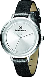 Daniel Klein Analog Silver Dial Womens Watch-DK11374-3