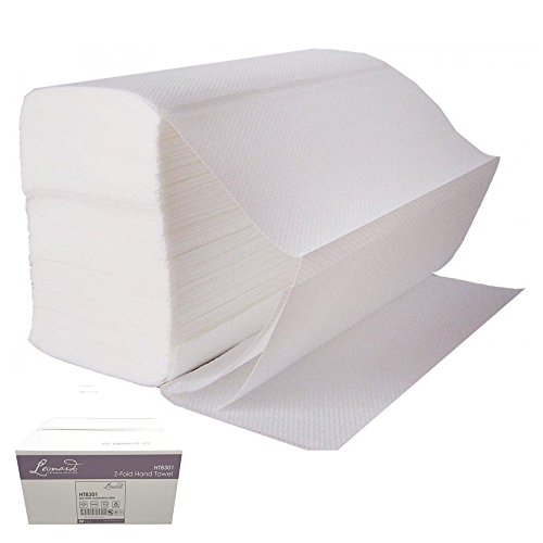 luxury-z-inter-folded-white-soft-2ply-embossed-hand-towels-case-3000