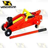 Woschmann Car Jack Hydraulic Trolley Jack with Strong Stick to Push Car Jack - 2 Ton Capacity (Check Your Car Name in Last Image)
