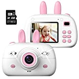 Action Kids Camera, Digital Video Camera Children Creative DIY Camcorder with 2.4 Inches