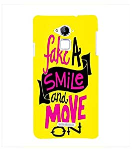 Fuson Premium D13202 Printed Hard Plastic Back Case Cover for Coolpad Note 3