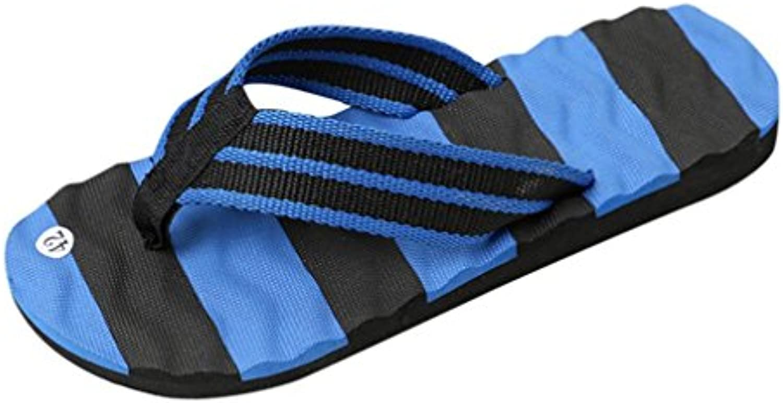 LHWY Herren Slipper  Männer Sommer Sandalen Slipper Fashion Casual Indoor Outdoor Flip Flops Zehentrenner Strand