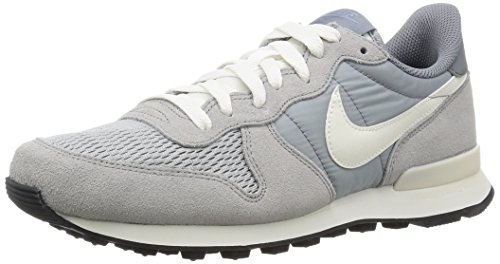 Nike Internationalist, Baskets Basses Homme Grau  (015 WOLF GREY/SAIL-SAIL)