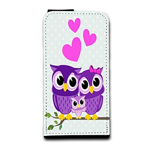 Flip Style vertikal Handy Tasche Case Schutz Hülle Foto Schale Motiv Etui für Apple iPhone 5 / 5S - V2 Design6 Design 11