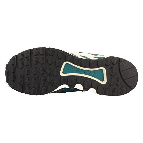 Adidas Equipment Running Support 93, core black-emerald-core white Grau
