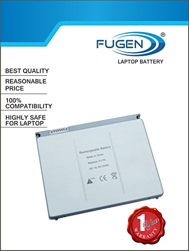 "Fugen Laptop Battery A1175 1175 for MacBook Pro 15"" A1150, MA463, MA464, MA600, MA601, MA609, MA610, MA895*/A, MA896*/A, MB134*/A, MA348, MA348*/A, MA348G/A, MA348J/A"