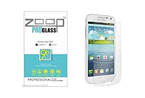 Zoop Premium 2.5D Rounded 9H 2.6mm Anti Burst Tempered Glass for Samsung Galaxy S4