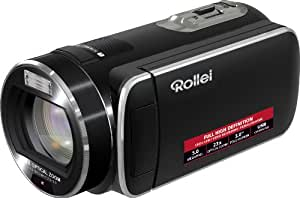 Rollei Movieline SD 23 Camcorder (5 Megapixel, 23-fach optischer Zoom, 7,6 cm (3 Zoll) Display)