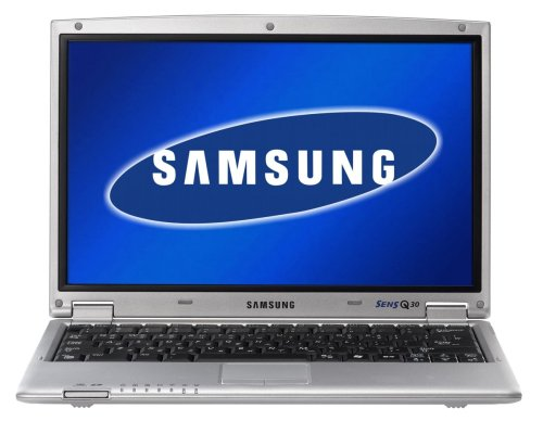 Samsung Q30 Silver 1200 30,7 cm (12,1 Zoll) WXGA Laptop (Intel Centrino 1.2GHz, 512MB RAM, 60GB HDD, extern UltraSlim DVD-Multi, XP Prof) Notebook-pc-intel Centrino Core