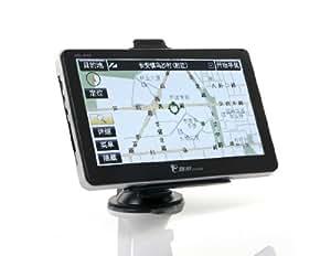 """7 """"écran tactile Windows CE 6.0 GPS Navigator avec transmetteur FM / Jeux / Ebook / Photos / mémoire 4G"""