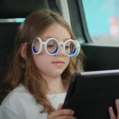 Wokee Hochwertiges Brille Gegen Übelkeit, Reisekrankheit, Seekrankheit Oder Schwindel,Anti-Bewegung für keine Krankheit mehr,Anti-Motion-Sickness-Brille