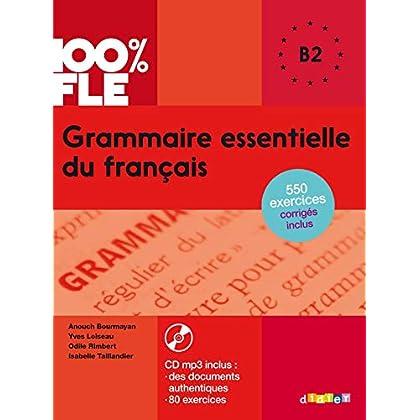 Grammaire essentielle du français niv. B2 - Livre + CD