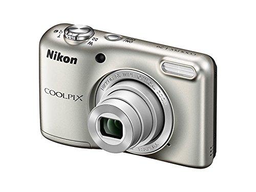 Nikon Coolpix L29 Digitalkamera (16 Megapixel, 5-fach opt. Weitwinkel-Zoom, 6,9 cm (2,7 Zoll) LCD-Display, HD) silber VNA680E1 (Nikon L29-digitalkamera)