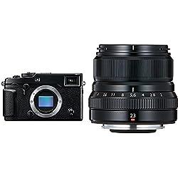 Fujifilm X-Pro2 Appareil Photo Numérique Hybride 24,3 Mpix Noir + Fujifilm Fujinon 23/F 2.0 XF R WR Objectifs 23 mm Noir