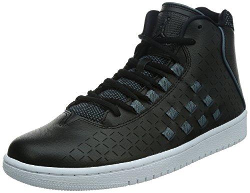 nike air jordan effetto da uomo scarpe sportive alte 705141 scarpe da tennis, black black blu grafite 002, 7 UK / 41 EU / 8 US