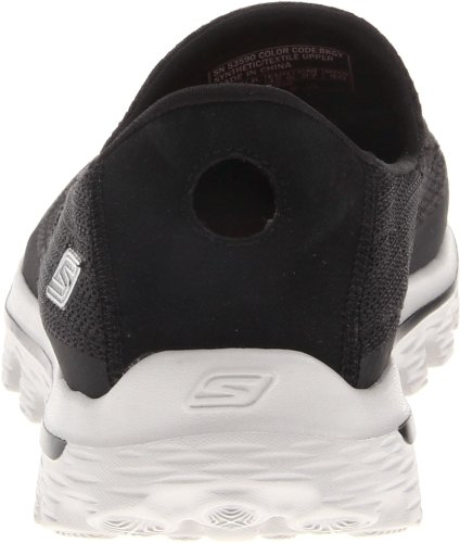 Skechers Go Walk 2, Scarpa da Camminata Uomo Nero (Black/Grey)