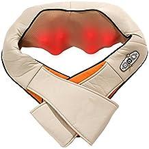 Masajeador de cuello y hombro Stoga Classic Shiatsu Masajeador cervical con intensidad de atenuación y función térmica Para la relajación del dolor muscular y la firmeza