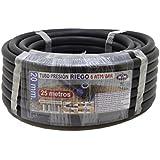 S&M 012129 - Tubería polietileno riego, 20 x 6 atm - 25 m, color negro