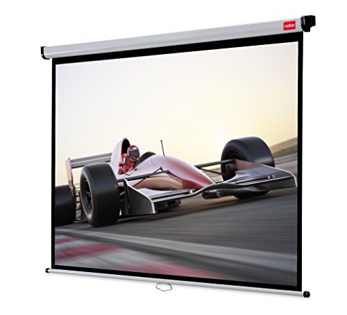 Get Nobo Wall Mounted Projection Screen Home Theatre/Office/Cinema Screen 4:3 Screen Format (2400x1813mm) Online