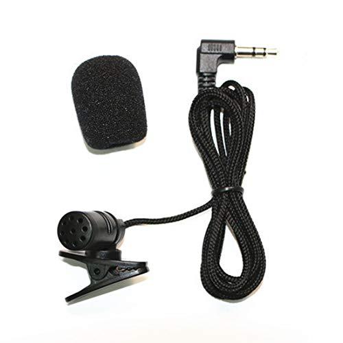 PC-Auto-DVD GPS-Player Radio Audio-Mikrofon 1,18 m flexibel 3,5 mm Stereo-Jack Mini-universial-Mikrofon mit Clip