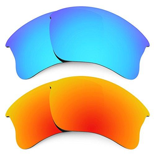 Revant Ersatzlinsen für Oakley Flak Jacket XLJ Polarisiert 2 Paar Kombipack K002
