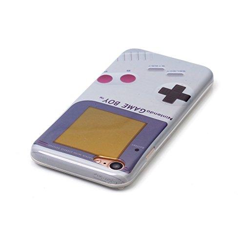 TPU Silikon Schutzhülle Handyhülle Painted pc case cover hülle Handy-Fall-Haut Abdeckungen für Smartphone Apple iPhone 7 (4.7 Zoll) +Staubstecker (6GW) 13
