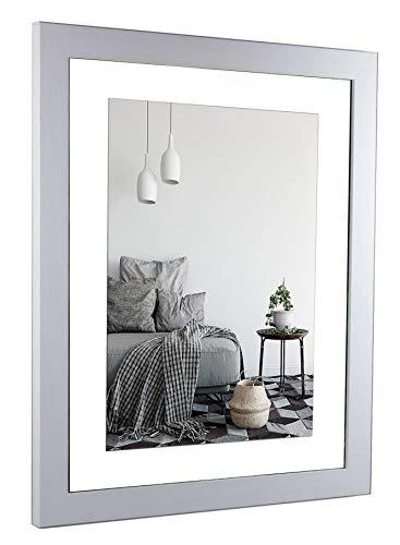 myposterframe Bilderrahmen Spezial 25 x 25 cm Größe 25 x 25 cm Juno Farbe: Weiß matt Rückwand: Weiß Verglasung: Acrylglas klar 1 mm (Verglasung Bilderrahmen)