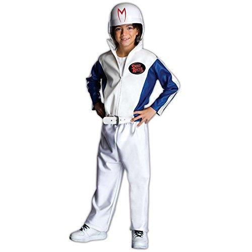 Kostüm Lizenz Rennfahrer de Luxe Speed Racer Größe (Für Kinder Kostüm Racer Speed)