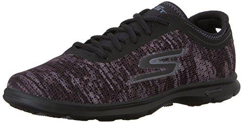 Skechers GO STEP, Sneakers Basses femme Noir