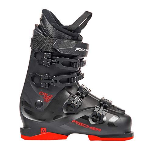 Fischer Unisex– Erwachsene Skischuhe Cruzar X 9.0 Thermoshape Flex 90 Skistiefel 2019, Farbe:schwarz/rot, Größe:MP26.5, schwarz, 26.5