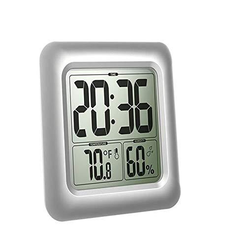ZHOUMIN Relojes, Relojes Pared Prueba Agua, medidores