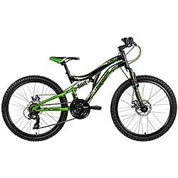 KS Cycling 130K Vélo Mixte Enfant, Noir