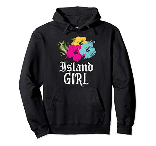 Insel Mädchen! Westindische Karibik Urlaub Pullover Hoodie