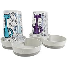 Vitakraft Futter- und Wasserspender für Katzen, 1,5l