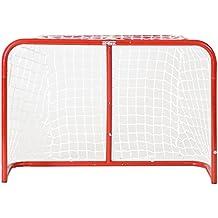 Base Porta da hockey,pieghevole, con rete di poliestere, Sport & tempo libero Outdoor, Streethockey Tor Street Goal 32 Zoll Inkl. 2 Ministicks And Softball, Rot, Breite: 81,2cm / Tiefe:30,5cm  / Höhe: 53,3cm