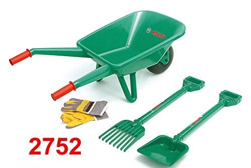 Theo Klein 2752 - BOSCH Gartenset mit Schubkarre, 4-teilig, Spielzeug - 3