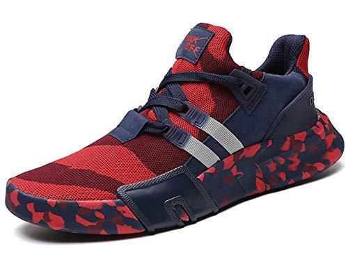 GJRRX Uomo Scarpe da Ginnastica Corsa Sportive Running Sneakers Fitness Interior Casual all'Aperto 39-44