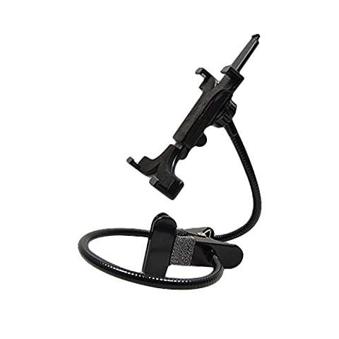 Tiptiper flexible Gooseneck Halter Stand 360 Grad Klammer Montieren für 7-12 Zoll-Tablet-PC iPhone iPad GPS Samsung