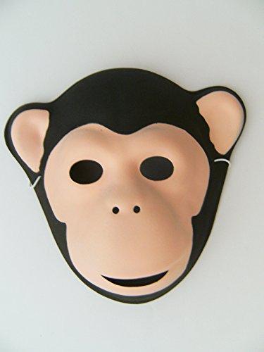 Kindergeburtstag Karneval Fasching Tier Tiere Masken Theater Zoo Affe Affen ()