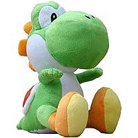 Super Mario - Peluche Yoshi con Licencia Oficial de Nintendo, 20 cm (AGMSM6P-