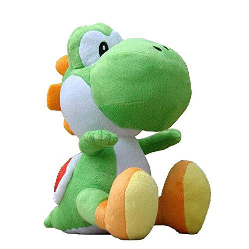 Super Mario - Peluche Yoshi con licencia oficial de Nintendo, 20 cm (AGMSM6P-01Y)