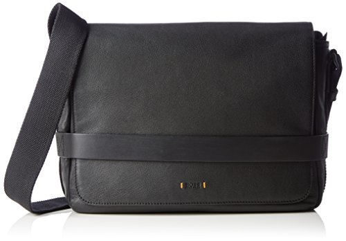 BOSS Orange Herren Journey_Mess Flap 10193329 01 Umhängetaschen, Schwarz (Black 001), 13 x 37 x 28 cm (Orange Boss Tasche)