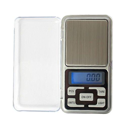 Balance de poche numérique portable LCD électronique balance de bijoux Doré Diamant balance balance de précision Outil de pesée, 200 g 0.01 g