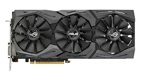 Price comparison product image ASUS AMD Radeon RX 480 STRIX 08G 8 GB 8000 MHz GDDR5 256 Bit Memory PCI-Express 3 DVI / HDMI / DP Graphics Card - Black